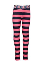 B.NOSY legging 5571 pink stripe