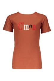 NoBell shirt Kio 3407 cognac
