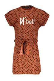 NoBell jurk Miky 3802 cognac
