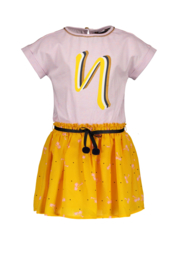 NONO 2part jurkje MerylaB 5806 warm yellow
