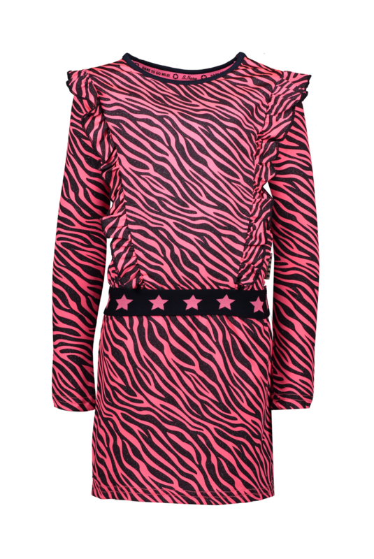 B.NOSY jurkje 5886 pink zebra
