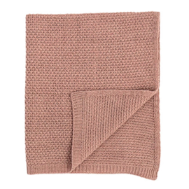 MINI PLAID THROW ROZE | BLOOMINGVILLE