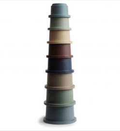 STACKING CUPS FOREST | MUSHIE