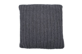 KUSSEN KNITTED ANNECY DARK GREY | MRS.BLOOM