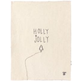 STITCHART HOLLY JOLLY | LEMONWISE