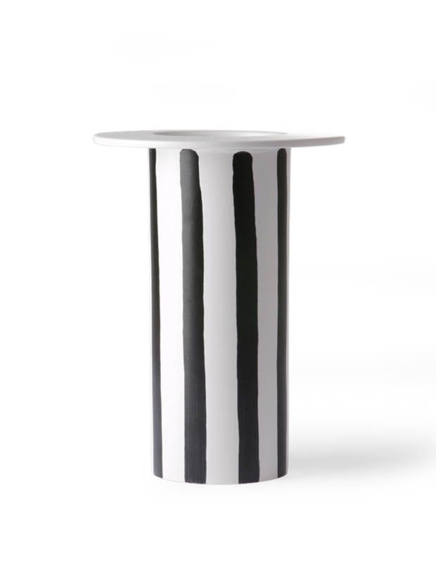 VAAS BLACK WHITE STRIPE | HK LIVING