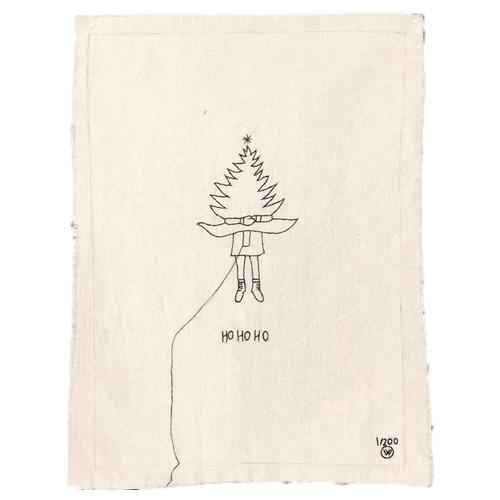 STITCHED ART HOHOHO TREE HUG | LEMONWISE