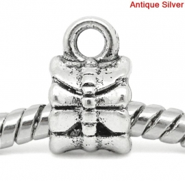 Bail strik in antiek zilverkleur