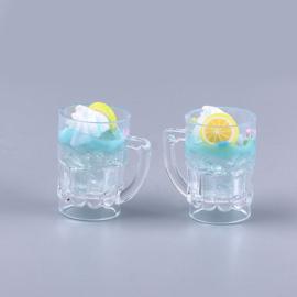 Resin hanger drankje met ijs en citroen
