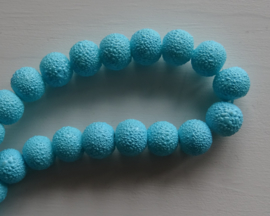 Iced glasparel in babyblauw 8mm