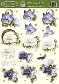 Uitdrukvel Marieke's Design bloemen