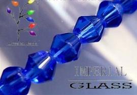 Streng bicone 4mm kobaltblauw (C25)
