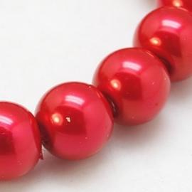 Glasparel 6mm rood