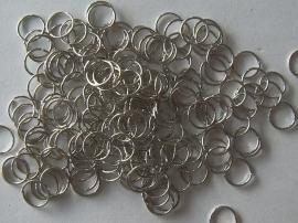 Buigringen nikkelkleur 10 mm