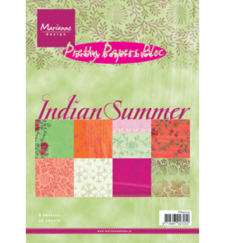 Paperblock Marianne Design Indian Summer