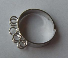 Verstelbare ring met bevestigingsoogjes