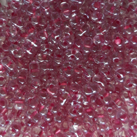 Miyuki Berry Beads Spkl peony pink lined crystal (1524)