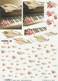 3D-knipvel piano