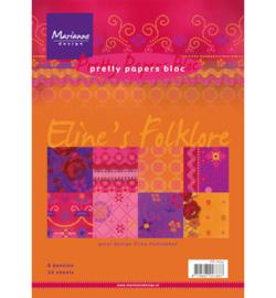 Paperblock Marianne Design Eline's Folklore
