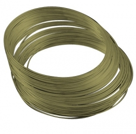 Memory wire 0,6 mm dik en diameter 55 mm