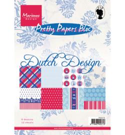 Paperblock Marianne Design Dutch Design