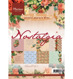 Paperblock Marianne Design Nostalgia