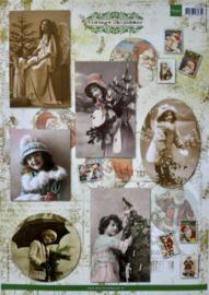 Knipvel Marianne Design Vintage Christmas - VK9530