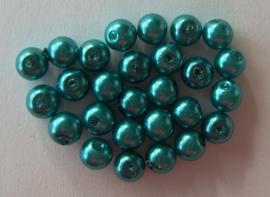 Glasparel 6mm groenblauw