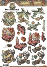 Knipvel Yvonne Creations - voertuigen