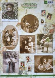 Knipvel Marianne Design Vintage Christmas - VK9529