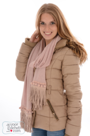 Sjaal Soft Pink