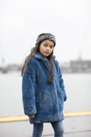 Moodstreet Winterjas - Fake Fur Petrol