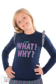 B.Nosy Shirt What Why
