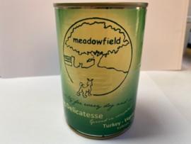 Meadowfield Blik Kalkoen/groente 400 gr