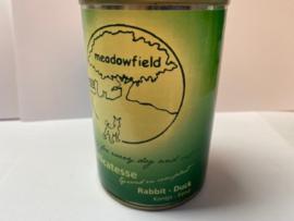 Meadowfield Blik Konijn/Eend 400 gr