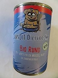 Bandit Bio Vleesmix Rund in blik 400 gram