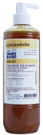 HAAKS®B.A.R.F Lijnzaadolie 500 ml