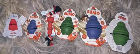 Beeztees Sumo Play - Hondenspeelgoed S
