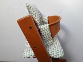 kussen / stoelverkleiner geplastificeerd, gecoat katoen stokke tripp trapp