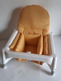 antilop kussen voor ikea kinderstoel kleur geel square