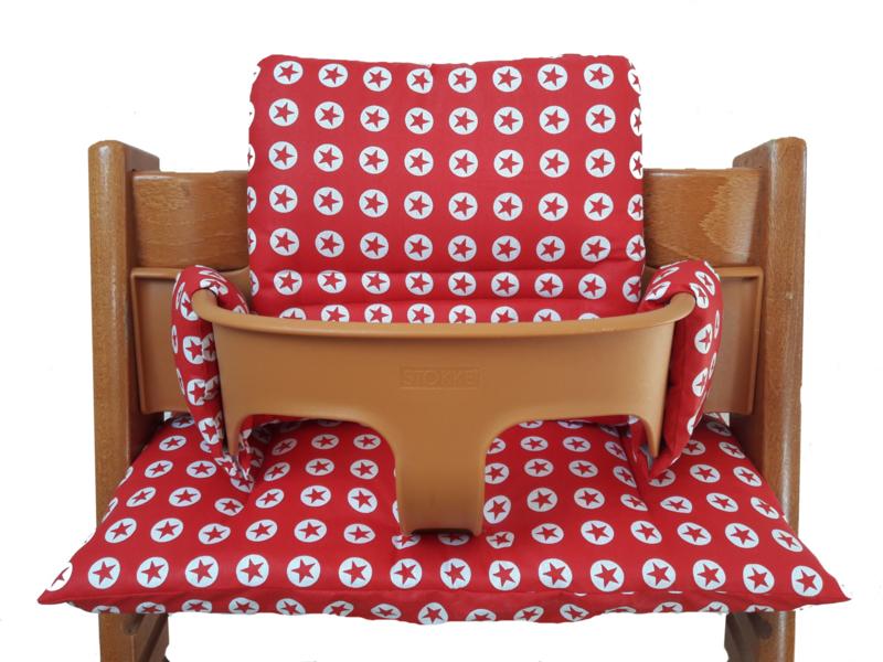 kussen / stoelverkleiner stokke tripp trapp converse; 2 kleurvarianten