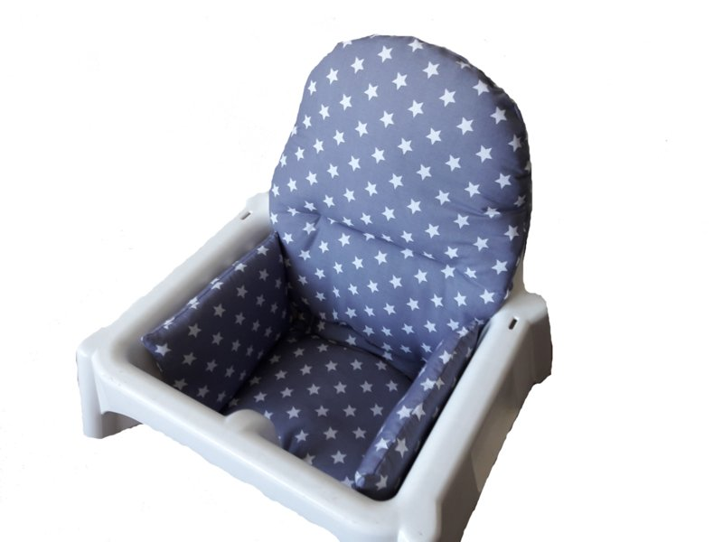Stoelverkleiner Voor Meegroeistoel.Antilop Kussen Voor Ikea Kinderstoel Sterren 3