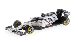 Minichamps Scuderia AlphaTauri Honda AT01 Pierre Gasly 1:43 Launch Spec 2020