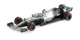Minichamps Mercedes-AMG W10 Valtteri Bottas 1/43 British GP 2019