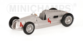 Minichamps Auto Union Type D Tazio Nuvolari 1/43 Winner British GP 1938