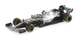 Minichamps Mercedes-AMG W10 Valtteri Bottas 1/43 2nd Place Chinese GP 2019