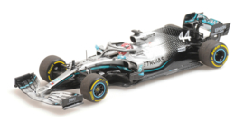 Mercedes AMG F1 W10 EQ Power+ Lewis Hamilton 1/43 World Champion 2019