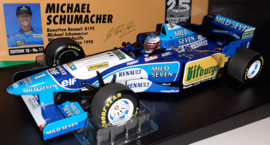 Minichamps Benetton Renault B195 Michael Schumacher 1:18 Winner Pacific GP - World Champion 1995 - Mild Seven