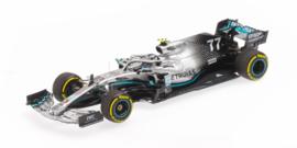 Minichamps Mercedes AMG W10 Valtteri Bottas 1:43 Winner USA GP 2019