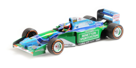 Benetton Ford B194 Mick Schumacher 1/18 Demonstration Run - Belgian GP 2017